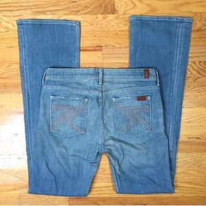 [7 For All Mankind] Flynt light wash bootcut jeans